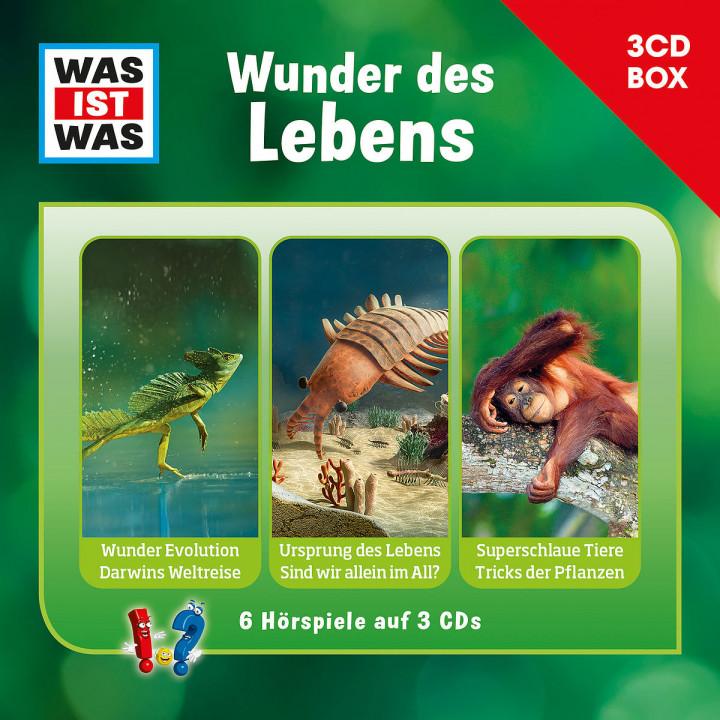Was Ist Was 3-CD Hörspielbox Vol.10 - Leben