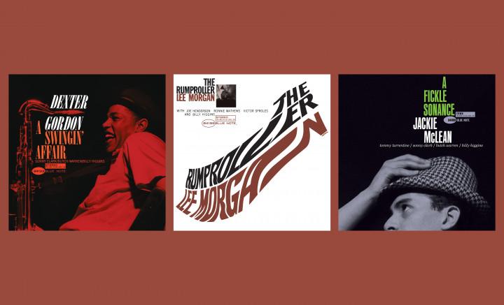 Blue Note Great Reid Miles Covers: Dexter Gordon - A Swingin' Affair / Lee Morgan - The Rumproller / Jackie McLean - A Fickle Sonance