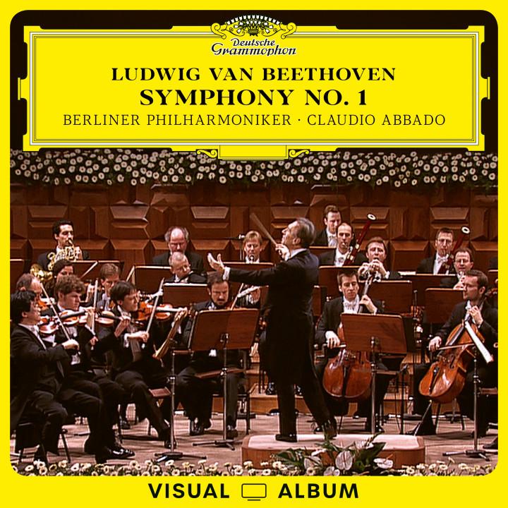 Abbado Beethoven EV symphony no 1 cover