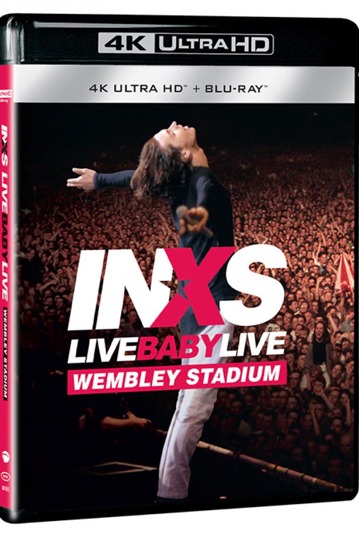 Live Baby Live 4K Blu-Ray + CD