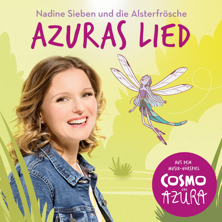Nadine Sieben, Alsterfrösche: Azuras Lied (Single Version) (aus: Cosmo und Azura)