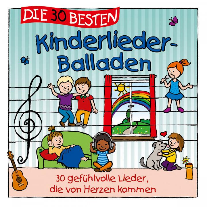 Die 30 besten Kinderlieder-Balladen