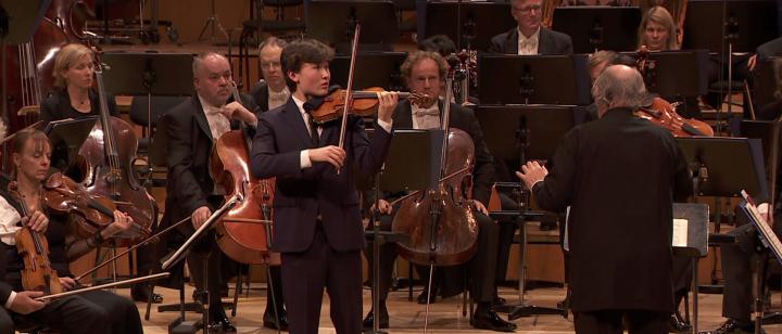 Daniel Lozakovich, Münchner Philharmoniker, Valery Gergiev – Beethoven: Violinkonzert: Larghetto