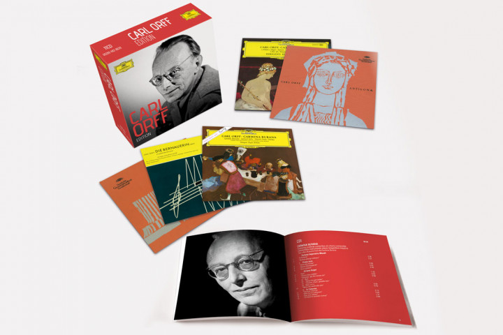Carl Orff - Edition - Packshot