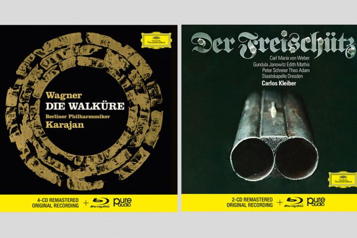 Karajan - Wagner: Die Walküre, Kleiber - Weber: Der Freischütz