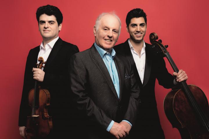 Barenboim Kiani Mozart Piano Trios