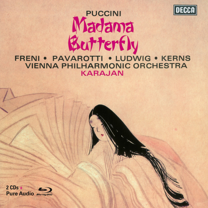 Puccini: Madama Butterfly Karajan 028947878193 Cover