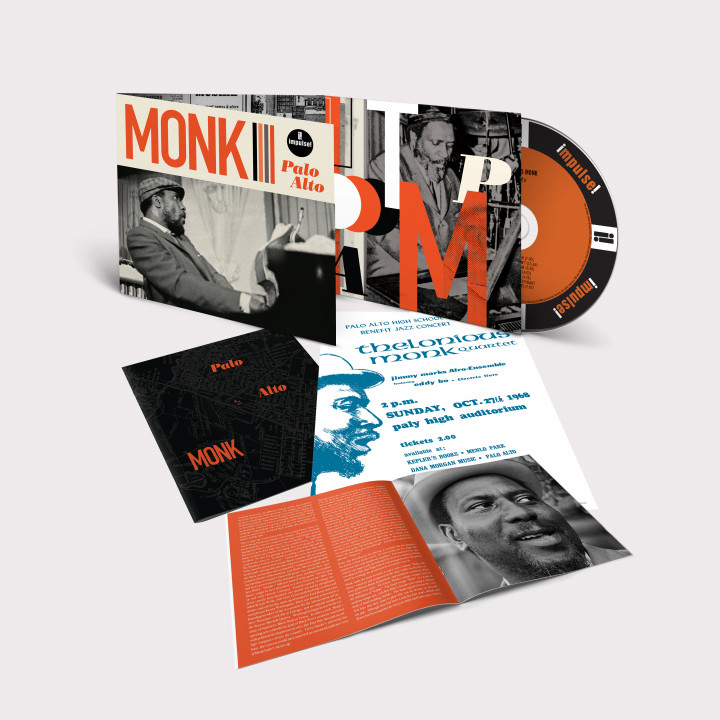 Thelonious Monk - Palo Alto (Packshot)