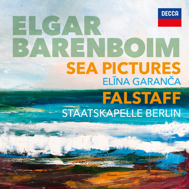 Barenboim Elgar Sea Pictures Falstaff Cover