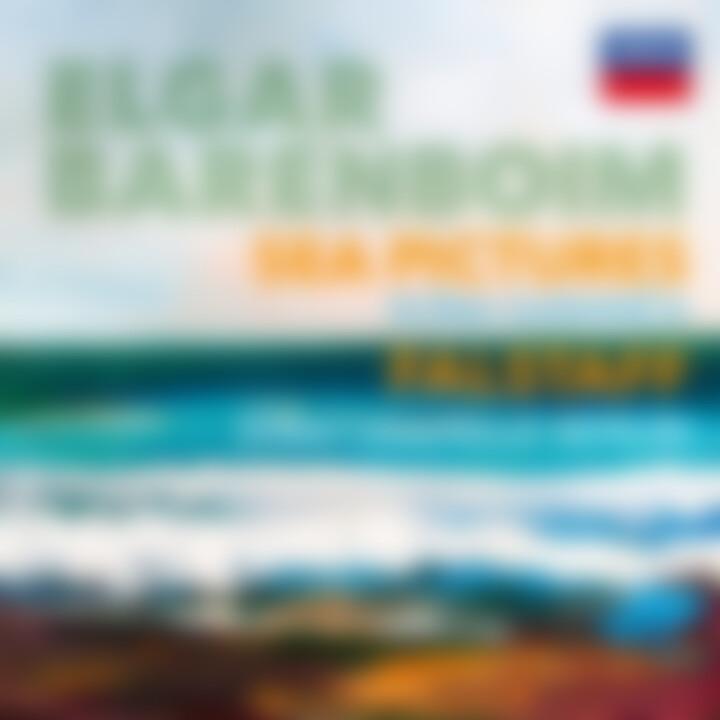 Barenboim Elgar Sea Pictures Falstaff Cover