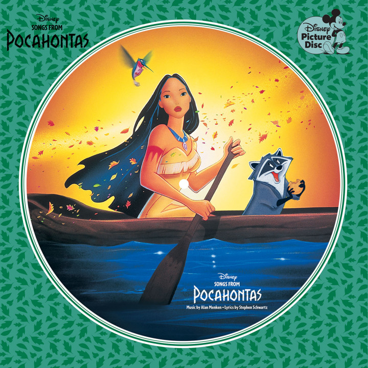 Songs From Pocahontas Cover