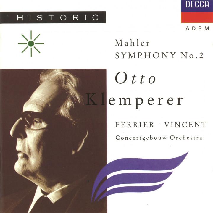 Klemperer Mahler Symphony 2 Cover