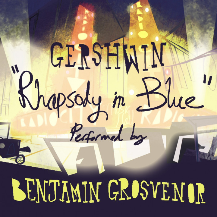 Grosvenor Rhapsody in Blue Gershwin Cover