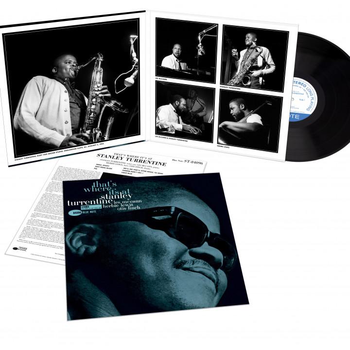 00602508622526_StanleyTurrentine_ThatsWhere_Packshot_01 - Tone Poet Vinyl