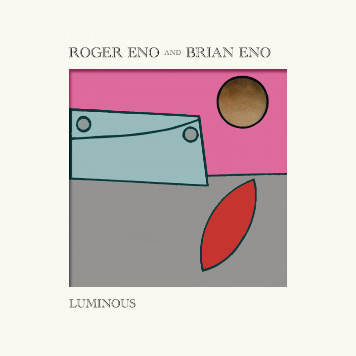 Roger and Brian Eno Luminous LP Cover