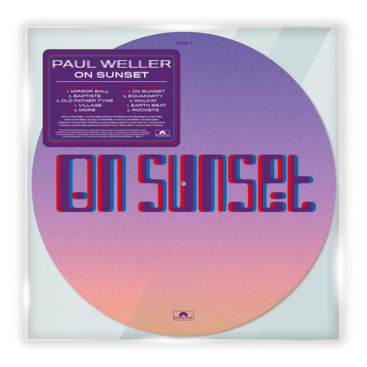 On Sunset Picture Disc
