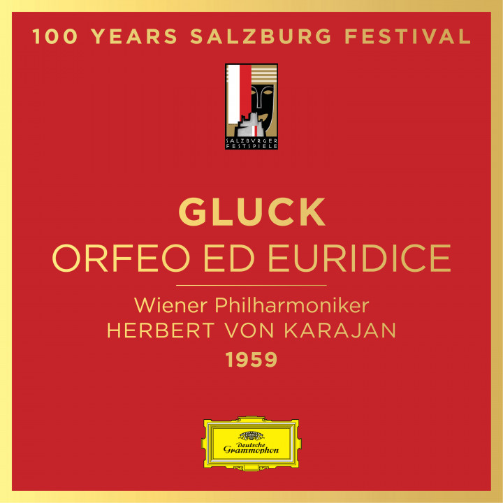 Gluck Orfeo Salzburg Festival Cover