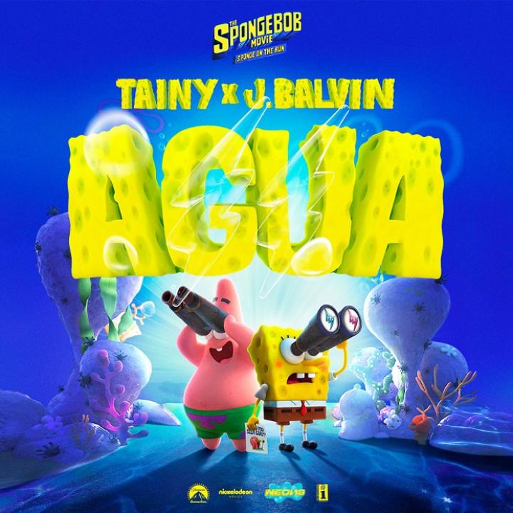Aqua J Balvin Cover