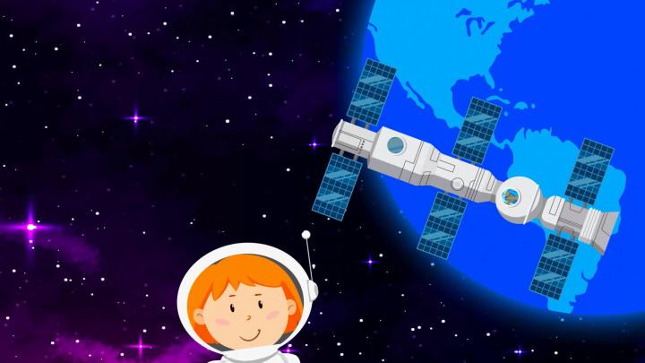 Die Maus auf Weltraumreise
