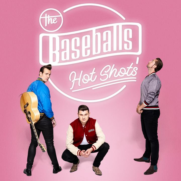 The Baseballs - Hot Shots - Album Cover