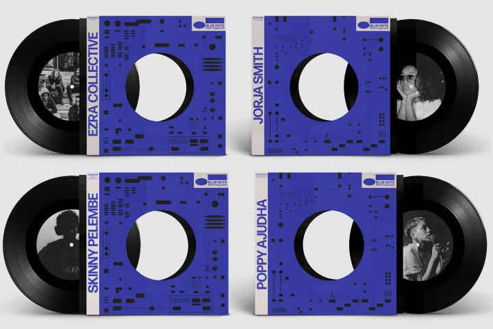"Blue Note Re:imagined 7"" Vinyl Singles"
