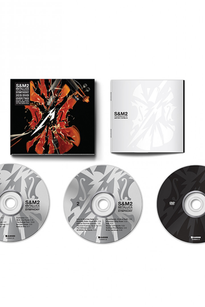 S&M2 2CD + DVD