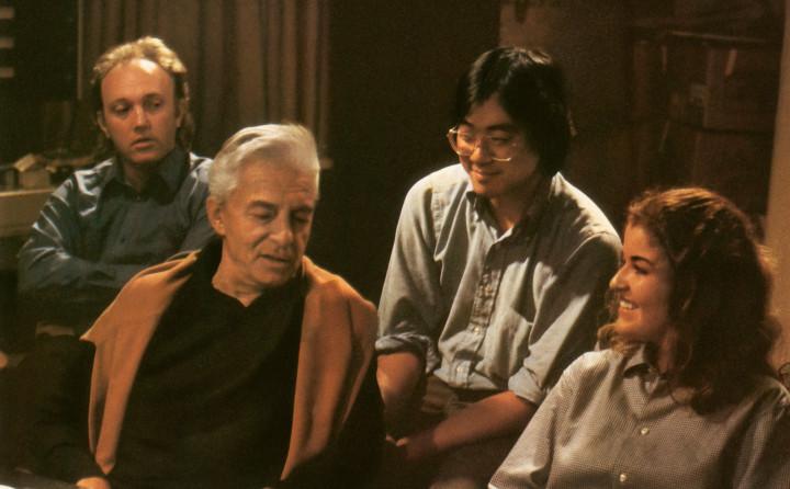 Mark Zeltser, Herbert von Karajan, Yo-Yo Ma, Anne-Sophie Mutter