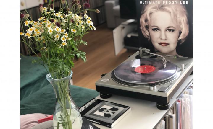 "JazzEcho-Plattenteller - ""Ultimate Peggy Lee"" (Ltd. Clear Vinyl)"