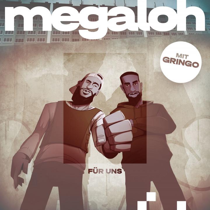 Megaloh - Für uns - Cover