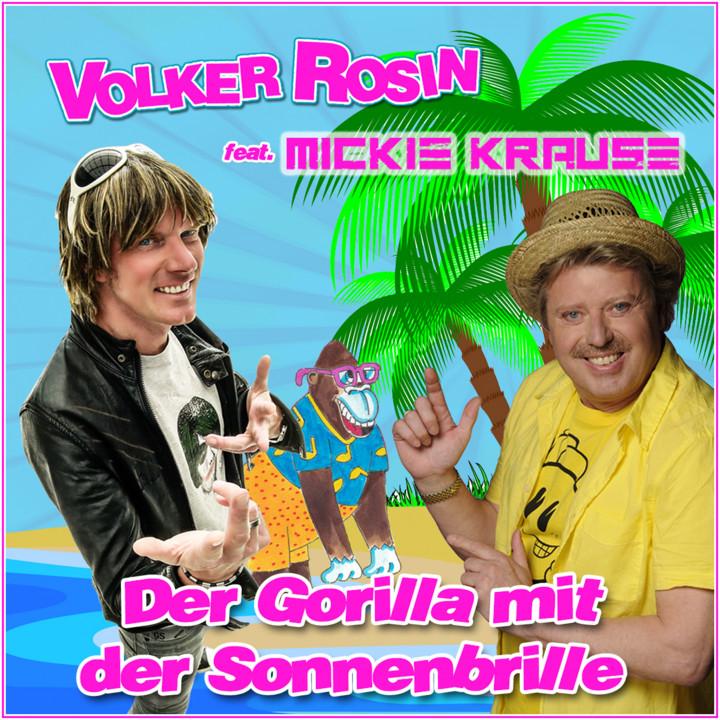 Volker Rosin Mickie Krause Der Gorilla mit der Sonnenbrille Single Cover