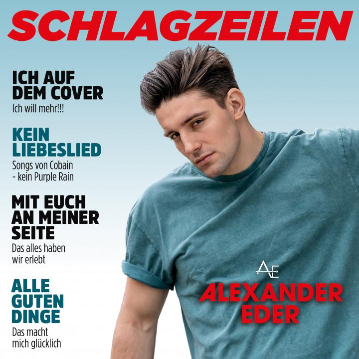 Alexander Eder - Schlagzeilen (Cover)