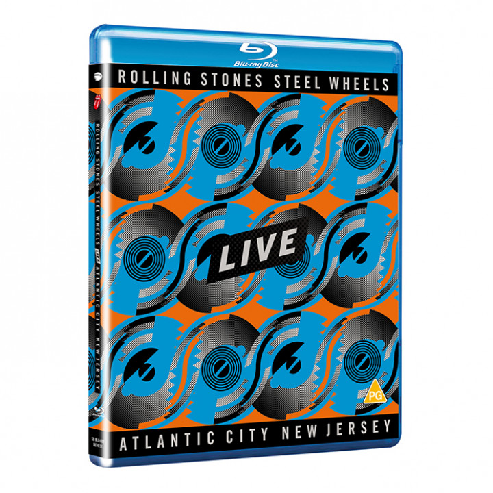 Steel Wheels Blu-ray