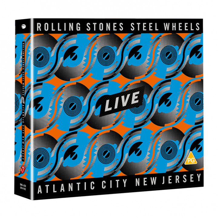Steel Wheels DVD + 2CD