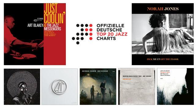 Jazz Charts, Jazz-Charts Juli 2020