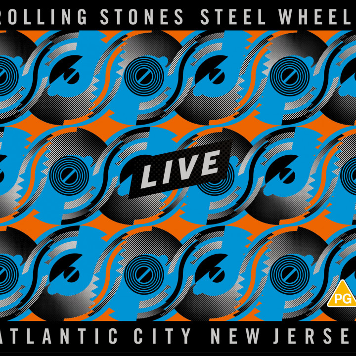 Steel Wheels Blu-Ray/2 CD Cover