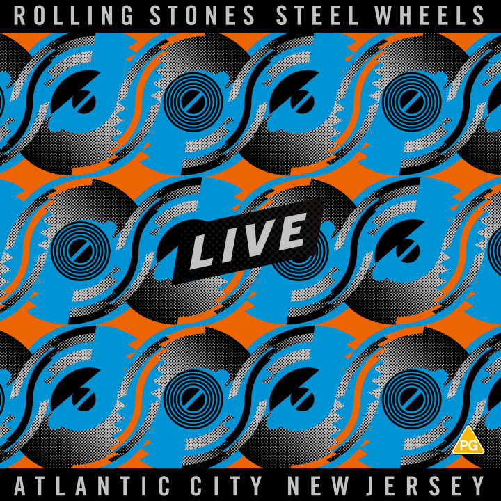 Steel Wheels 6 Disc Cover