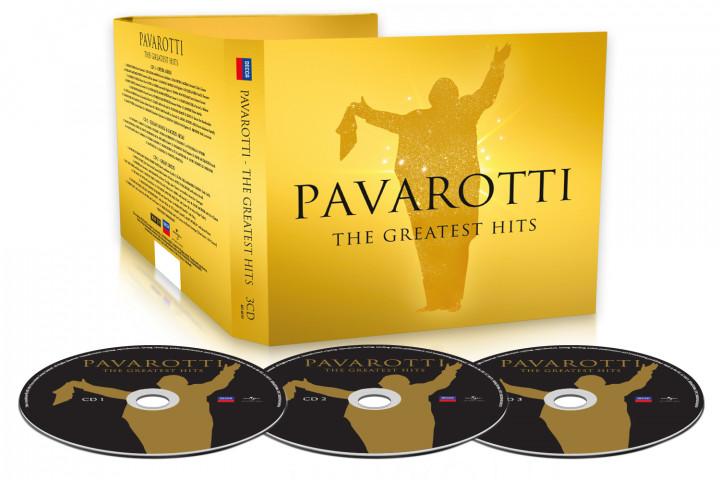 Pavarotti Singles Decca News Packshot