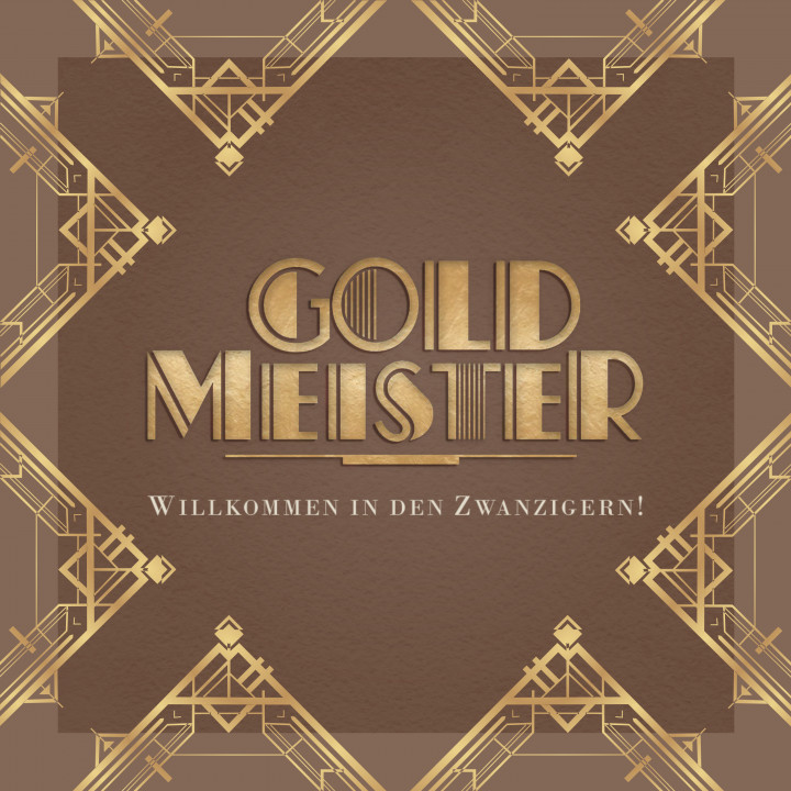 Goldmeister - Willkommen in den Zwanzigern! (Album) - Cover