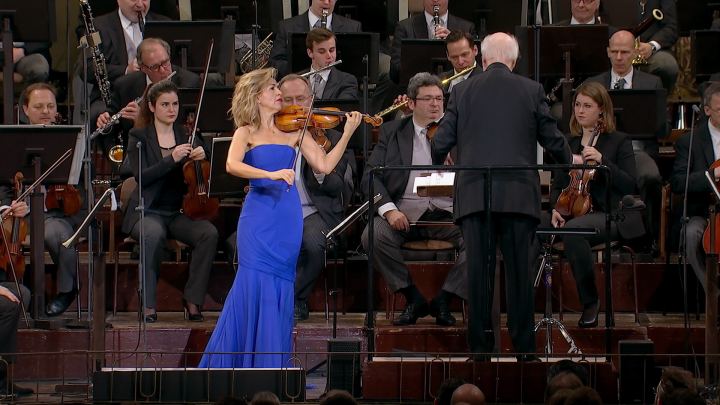 """""""Hedwig's Theme"""" aus """"Harry Potter"""" mit Anne-Sophie Mutter und den Wiener Philharmonikern"""