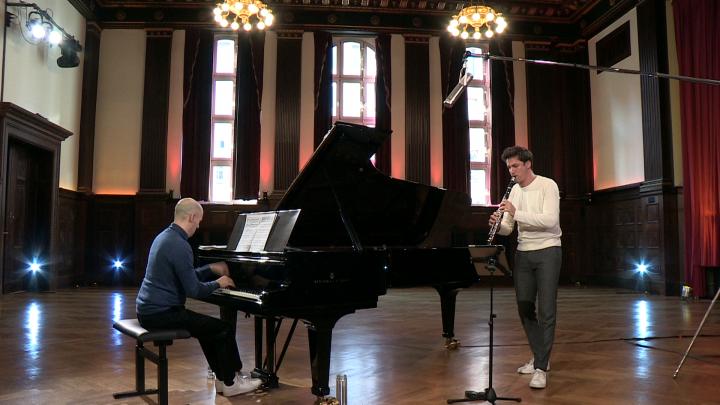 Mendelssohn: Lieder ohne Worte, Op. 62/6 (mit Julien Quentin) (Arr. Ottensamer)