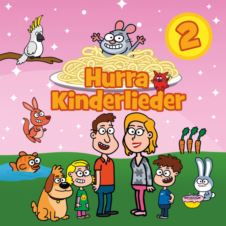 Hurra Kinderlieder 2 (Cover)