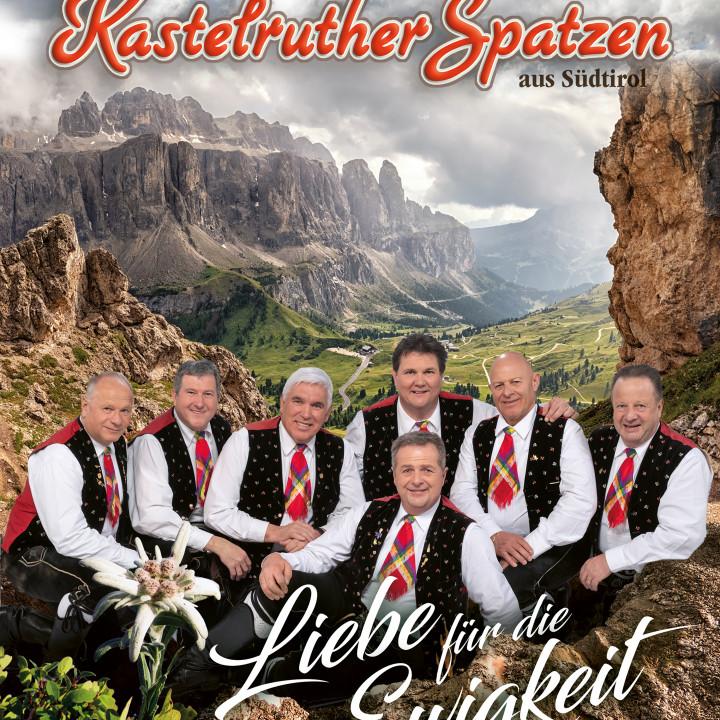 Kastelruther Spatzen - Liebe für die Ewigkeit - Cover (Fanbox)