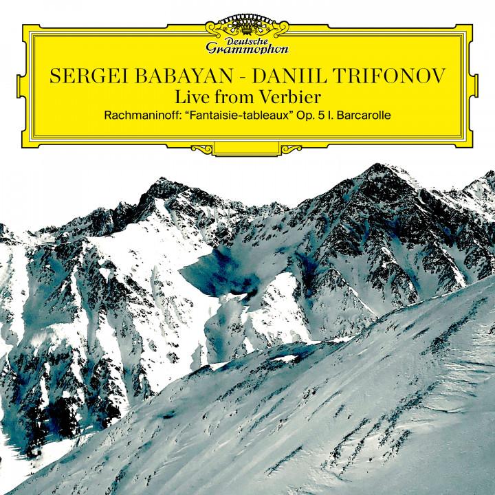 Sergei Babayan, Daniil Trifonov: Live from Verbier - Rachmaninoff: Barcarolle
