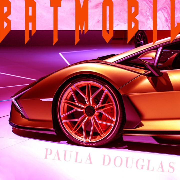 Paula Douglas - Batmobil Cover