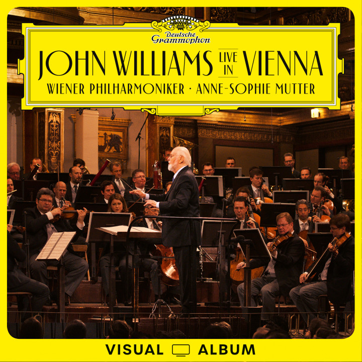 John Williams Live in Vienna EV Cover