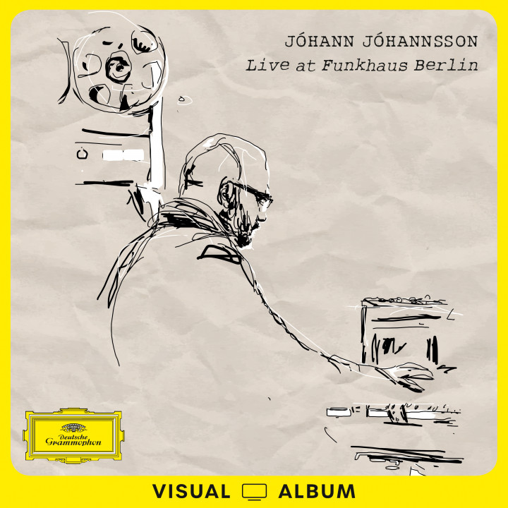 Johann Johannsson - Live at Funkhaus Cover