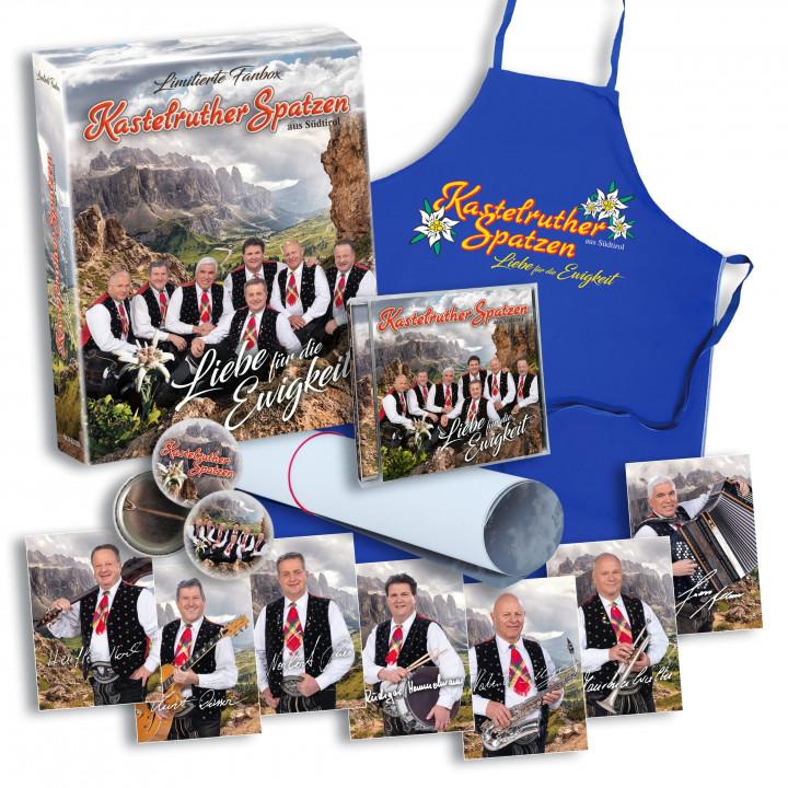 Kastelruther Spatzen - Liebe für die Ewigkeit - MockUp (Fanbox)