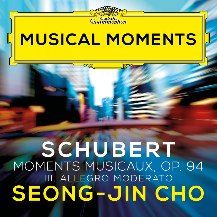 Seong-Jin Cho Schubert Musical Moments Cover