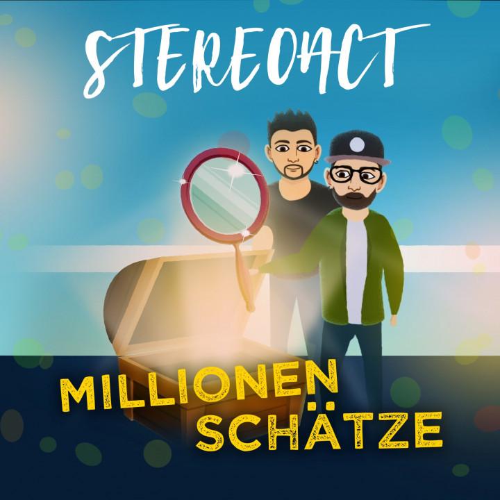 Stereoact - Millionen Schätze (Cover)