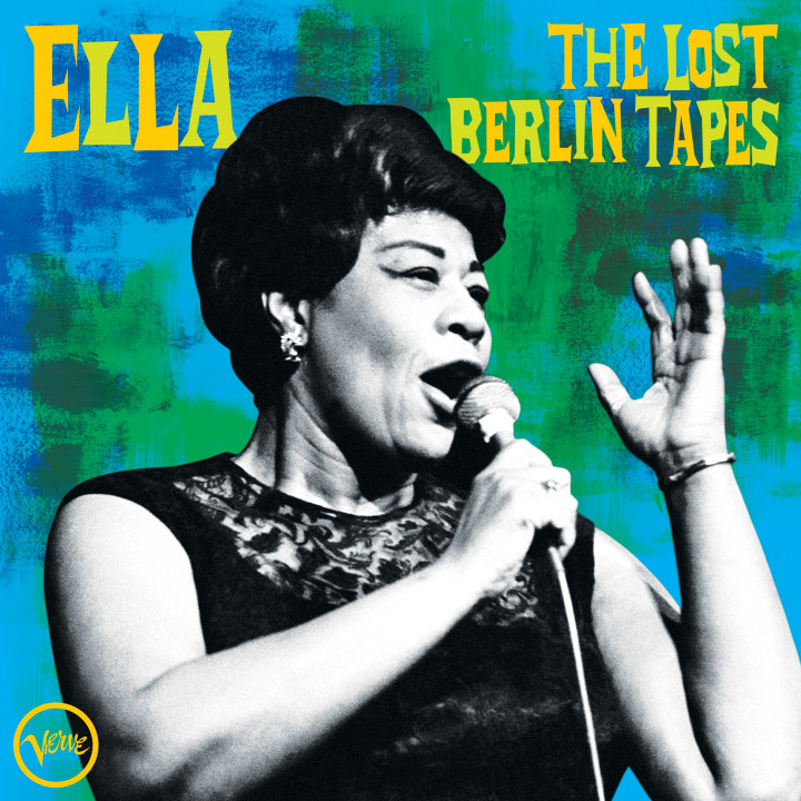 Ella Fitzgerald - The Lost Berlin Tapes - Cover